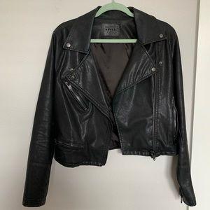 Blank NYC Moto Leather Jacket